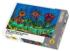 Kitty and Flowers Against a Prussian Blue Sky Cats Jigsaw Puzzle