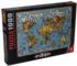 Butterfly World Map Butterflies and Insects Jigsaw Puzzle