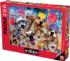 Beach Party Selfie Cats Jigsaw Puzzle