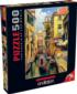 Sunday in Venice Boats Jigsaw Puzzle