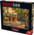 Brasserie Des Art Street Scene Jigsaw Puzzle