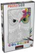 Coloring Night owls Birds Jigsaw Puzzle