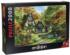 The Autumn Cottage - Scratch and Dent Fall Jigsaw Puzzle