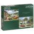 Driving in the Dales Nostalgic / Retro Jigsaw Puzzle