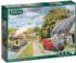 Parcel for Canal Cottage Landscape Jigsaw Puzzle