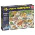 Wild Water Rafting Cartoons Jigsaw Puzzle
