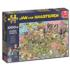 Pop Festival Cartoons Jigsaw Puzzle