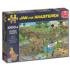 Mudracers Cartoons Jigsaw Puzzle