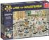 The Cattle Market Street Scene Jigsaw Puzzle