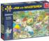 Camping In The Forest Summer Jigsaw Puzzle
