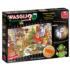 Wasgij Christmas 13: Turkey's Delight Cartoons Jigsaw Puzzle