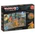 Wasgij Mystery 14: The Hounds of the Wasgijville! Cartoons Jigsaw Puzzle