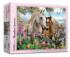 Meadow Horses Horses Jigsaw Puzzle