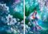 Oboro Sakuya Flowers Jigsaw Puzzle
