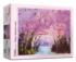 Cherry Blossom Road Spring Jigsaw Puzzle
