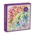 Rainbow Ornaments Pattern / Assortment Jigsaw Puzzle