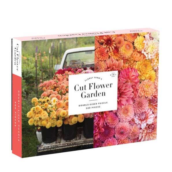 Floret Farm's Cut Flower Garden Garden Jigsaw Puzzle