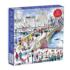 Bow Bridge in Central Park Winter Jigsaw Puzzle