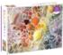 Rainbow Seashells Seascape / Coastal Living Jigsaw Puzzle