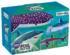 Foil Sharks Graphics / Illustration Glitter / Shimmer / Foil Puzzles