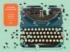 Vintage Typewriter Nostalgic / Retro Shaped Puzzle