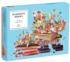 Wonder Books Collage Shaped Puzzle