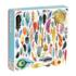 Foil Feathers Contemporary & Modern Art Glitter / Shimmer / Foil Puzzles