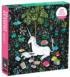 Unicorn Reading Graphics / Illustration Jigsaw Puzzle