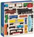 Vintage Toy Trains Trains Jigsaw Puzzle