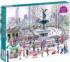 Bethesda Fountain Winter Jigsaw Puzzle