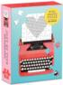Just My Type Vintage Typewriter Everyday Objects Shaped Puzzle