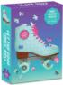Let The Good Times Roll Roller Skate (Mini) Everyday Objects Shaped Puzzle