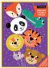 Animal Balloons Greeting Card Puzzle Animals Jigsaw Puzzle