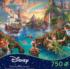 Peter Pan, 750 Piece Thomas Kinkade Disney Dreams Disney Jigsaw Puzzle