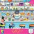 The Baker (Gigi the Cat) Cartoons Jigsaw Puzzle