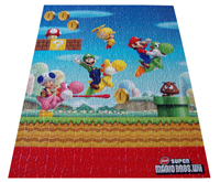 Super Mario: Wii Famous People Jigsaw Puzzle
