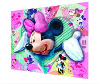 Real 3D Breakthrough - I Heart Minnie Mouse Disney 3D Puzzle