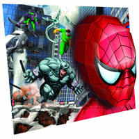 Real 3D Breakthrough - Spiderman Battle Cartoons 3D Puzzle