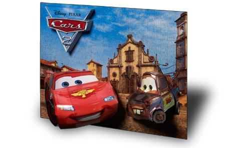 Real 3D Breakthrough - Cars 2 Disney 3D Puzzle