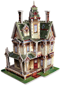 Haunted Victorian House - 3D Puzzle Halloween 3D Puzzle