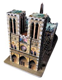 Notre Dame - 3D Puzzle Landmarks 3D Puzzle