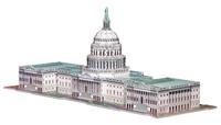 US Capitol - 3D Puzzle Patriotic 3D Puzzle