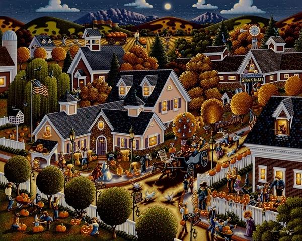 All Hallow's Eve Halloween Jigsaw Puzzle