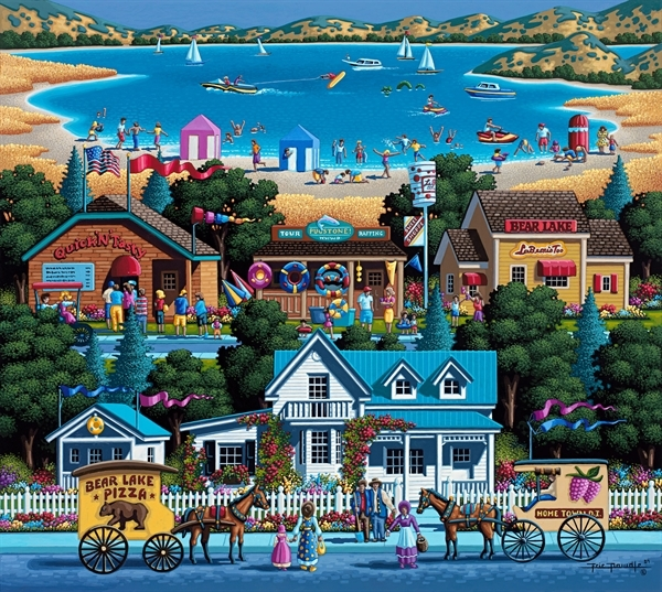 Bear Lake - Scratch and Dent Summer Jigsaw Puzzle