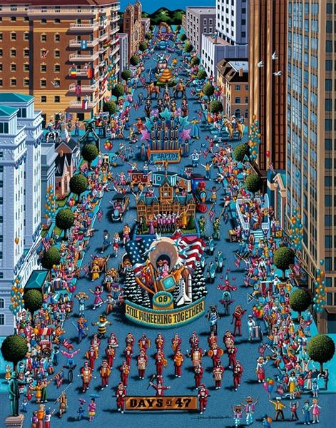 Dowdle - Days of 47 United States Jigsaw Puzzle