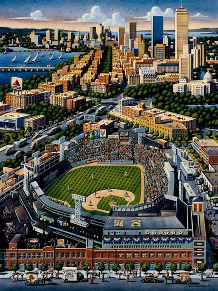 Dowdle - Fenway Park, 1000 Boston Jigsaw Puzzle