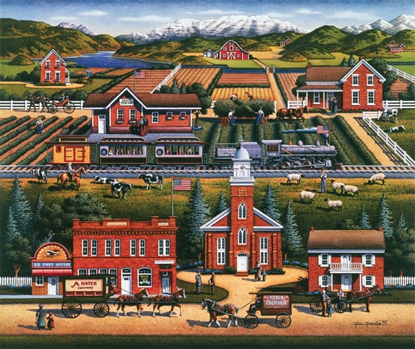 Dowdle - Heber Valley United States Jigsaw Puzzle
