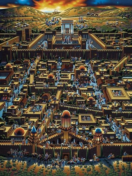 Jerusalem Religious Jigsaw Puzzle