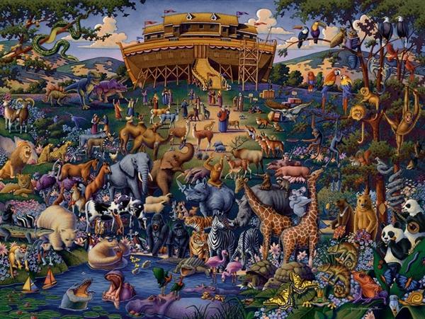 Dowdle - Noah's Ark, 50 Jigsaw Puzzle