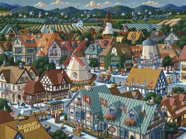 Solvang Travel Jigsaw Puzzle